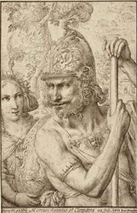 anthony and cleopatra by domenico peruzzini