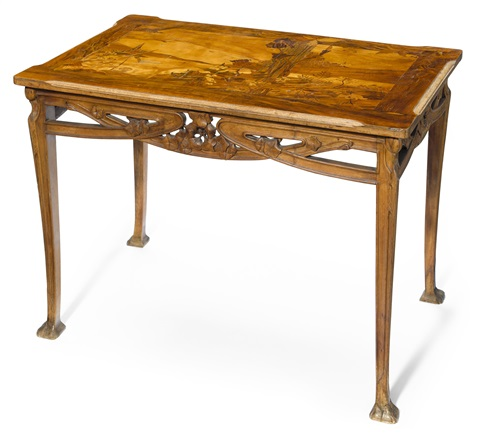 writing table by louis majorelle