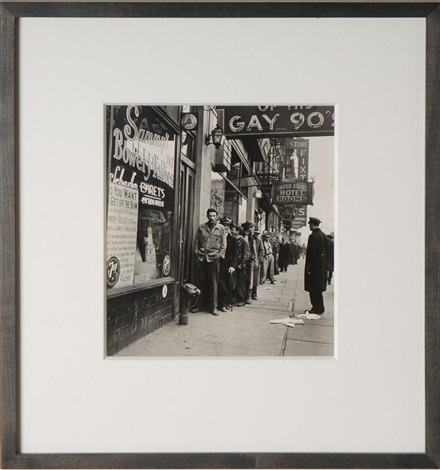 sammys on the bowery by w eugene smith