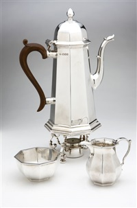 coffee service (set of 3) by nat leslie