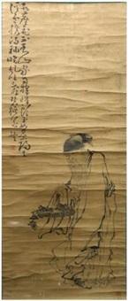 寿星图 by huang shen
