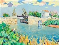 puente de van gogh, en arlés by ramon sanvisens