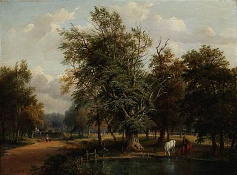 on putney heath surrey by jane nasmyth