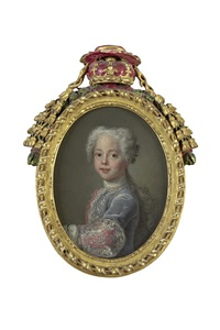 prince james francis edward stuart (+ 2 others; 3 works) by antonio david