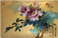 牡丹图 by liu haisu