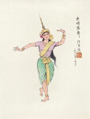 柬埔寨舞 by a lao