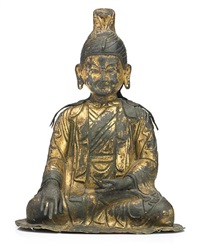 figure of a tibetan king (trisong detsun ?) by anonymous-tibeto-chinese (18)