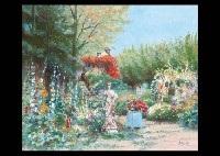 jardin de lhotel bloom garden 2 works by h rolf rafflewski