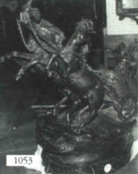 roman charioteer by antonio de luca