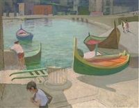 the boating pool by alan stenhouse gourley