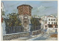place jean-baptiste-clement by maurice utrillo