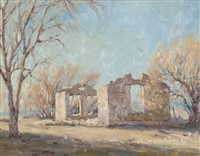 adobe ruin by clyde forsythe