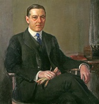 portrait of william dean by richard edward miller