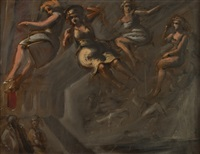 flying figures by reginald marsh