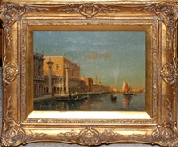 grand canal venice by noel georges bouvard