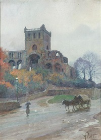 jedburgh abbey by william m. pratt