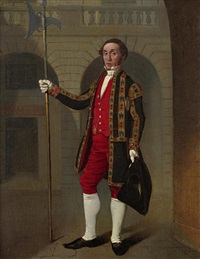 portrait of an edinburgh city officer by john myles