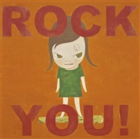 rock you by yoshitomo nara