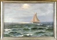 segel auf see by alexander reich-staffelstein