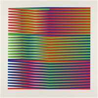 ohne titel (set of 8) by carlos cruz-diez