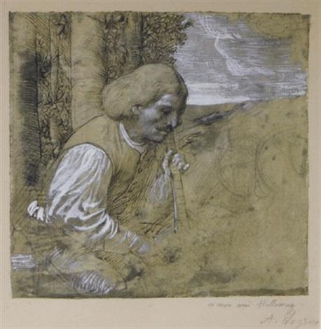 le joueur de viole by alphonse legros