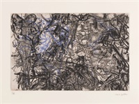 composition by jean paul riopelle
