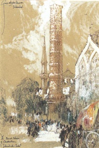 the burnt column of constantine (tehemberle-tash) by george wharton edwards