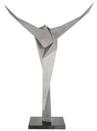 skulptur 2/89 by erich hauser