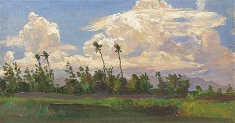 hawaiian landscape by horatio nelson poole