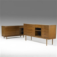 storage units by eero saarinen and charles eames