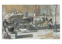 scène parisienne en hiver by théophile alexandre steinlen