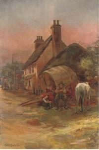 a rest by the inn by amelia goddard