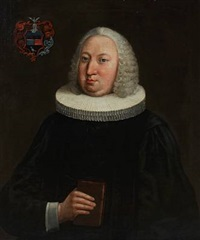 portrait of jacob caspar christian pingel, professor and archdeacon at sorø academy in denmark by carl gustav blumenthal