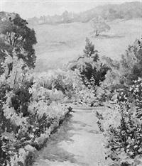 a garden path by henry raeburn dobson
