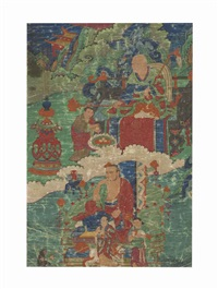 the arhats angaja and chudapantaka by anonymous-tibetan (18)