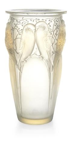 vase: ceylan by rené lalique