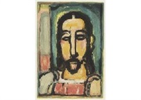 christ by georges rouault