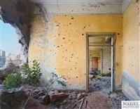 doorway, samir geagea headquaters, beirut, lebanon by robert polidori