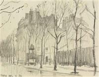 paris by lyonel feininger