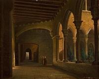 claustros de conventos franciscanos by achile battiztuzzi
