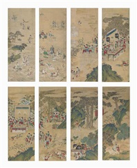 daoist immortals on their way to xiwangmu's banquet by anonymous-korean (19)