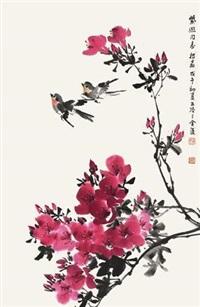 春花双燕 by zhang zhengyin