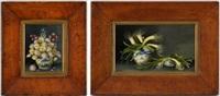 bouquet de fleurs (+ poireaux, lrgr; pair) by sondra lipton