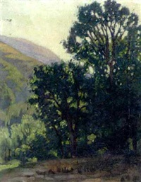california landscape by charles pickering townsley