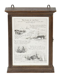 the laws of the navy (4 works in 1 frame) by roland langmaid