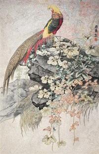 工笔花鸟 by lin ruoxi