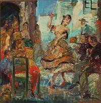 carmen - motif from the opera by georges bizet by ludvig jacobsen