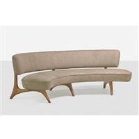 floating seat and back sofa, no. 176sc by vladimir kagan