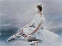 芭蕾舞女孩 by liu yi