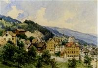 wald/heiden im kanton st. gallen an einem sommertag by max bach